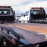 Flatbed Towing Truck